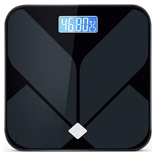 NCBH Elektronisches Gewicht, Intelligente Waage, Fettwaage für den menschlichen Körper, Verwendung LCD-Display, hohe Helligkeit, zum Lesen von Daten im Tages- und Nachtmodus