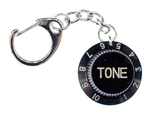 Miniblings Tone Poti Gitarre Regler Schlüsselanhänger Schlüsselring Musiker