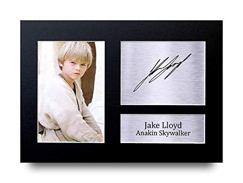 HWC Trading Jake Lloyd A4 Ungerahmt Signiert Gedruckt Autogramme Bild Druck-Fotoanzeige Geschenk Für Star Wars Anakin Skywalker Filmfans