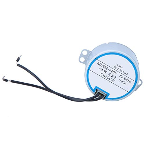 Motor síncrono, motor CW/CCW, motor de control remoto de alta calidad TY-50A para ventilador de cabeza móvil 220-240V