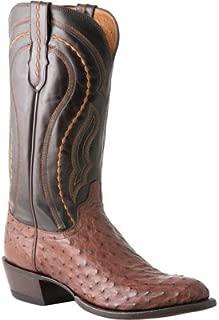 Men's Handmade 1883 Montana Western Full Quill Ostrich Cowboy Boot Snip - M1607 74