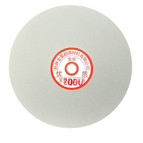 uxcell 6-inch Grit 2000 Diamond Coated Flat Lap Wheel Grinding Sanding Polishing Disc