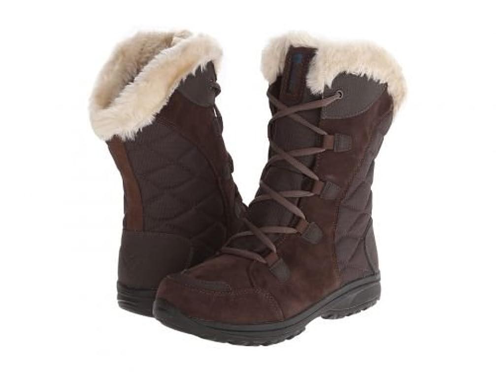 マインドフルおなかがすいた役員[コロンビア] レディース 女性用 シューズ 靴 ブーツ スノーブーツ Ice Maiden(TM) II - Cordovan/Siberia [並行輸入品]