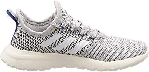 adidas F36645 Lite Racer RBN Herren Sneaker Textil OrthoLite Float-Einlegesohle, Groesse 49 1/3, grau