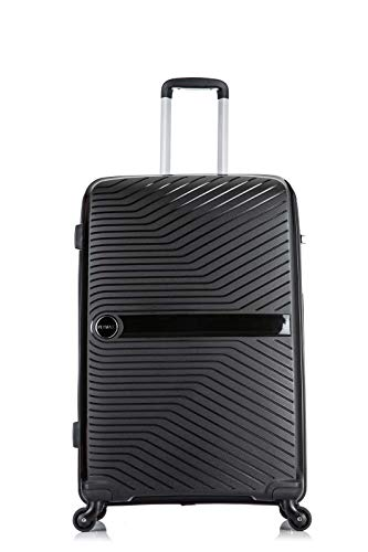 24' Flymax Hard Shell Medium Suitcases 4 Wheel Spinner 67 cm