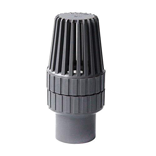 wgd FA Válvula De Retención Inferior del Pistón De 32mm-63mm,válvula Inferior De La Bomba De Agua Outlet De Entrada De Agua Filtro De Plástico Accesorios De Acuario, 1pcs (Size : Inner Dia.32mm)