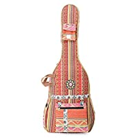 The House Of Tara Handloom Fabric Guitar Case (Multicolor 9) 2