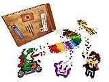 La manufactura del Pixel – 1800 píxeles con clip, Pixel Art, ocio creativo, Mosaico, divertido.