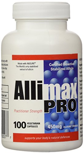 Allimax International Pro Vegicaps 450 Mg, 100 Count