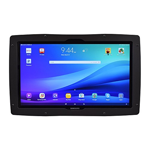 Padholdr Fit View 18.4 Tablet Holder Gloss Black Designed Specifically for The Samsung View 18.4 Tablet