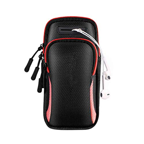 Sahoga Sahoga Sports Arm Bag, Running Armband Phone Holder Impermeable Brazalete Brazalete Pulsera para Deportes al aire libre Ciclismo