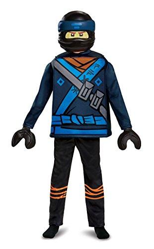 LEGO Ninjago Movie - Jay Movie Deluxe Kostüm M (7-8 J.), 127-136cm