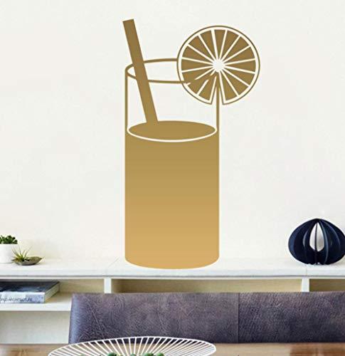 Muursticker 43X78cm Creatieve drank Applique Kan verplaatsen PVC Wallpaper Home Decoratie Moderne Waterdichte Zelfklevende Kunst Creatieve DIY
