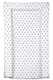 East Coast Nursery Ltd Tiny Triangles Changing Mat, White
