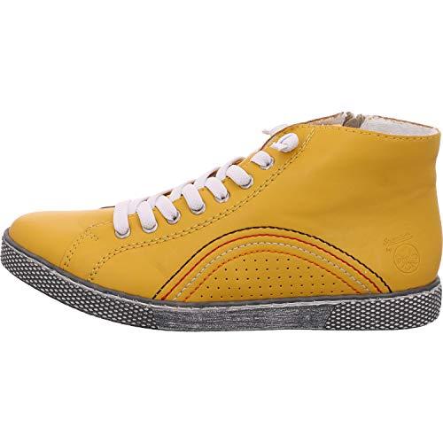 Rieker Damen Z1225 Sneaker, gelb,38 EU