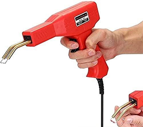 Conjunto de máquinas de soldadura de reparación de crack de automóviles de coche profesional, herramientas de garaje de plástico a mano, grapadora caliente de soldadura utilizada para reparar y reforz