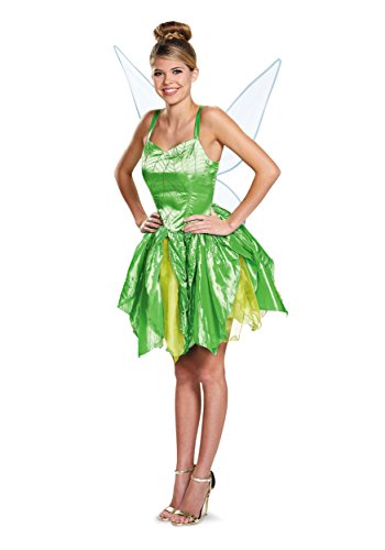 Disguise Womens Prestige Tinker Bell Costume X-Large
