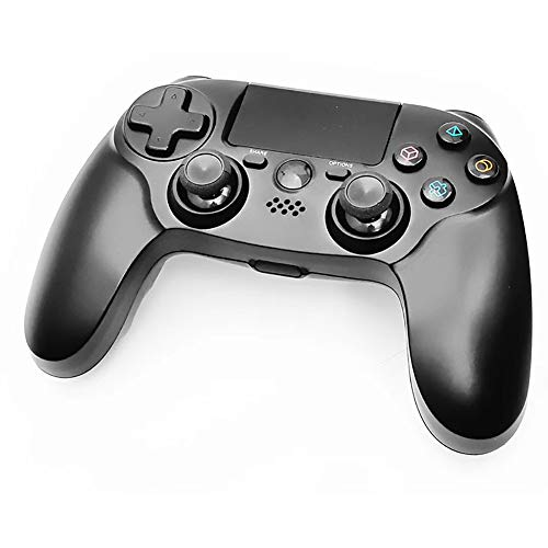 LUOXU Bgame Controller/Gamepad PS4, USB Wireless Gamepad-Controller Dual-Motor Dual-Vibration Schock Joystick, für PS4 / PS3 / PC