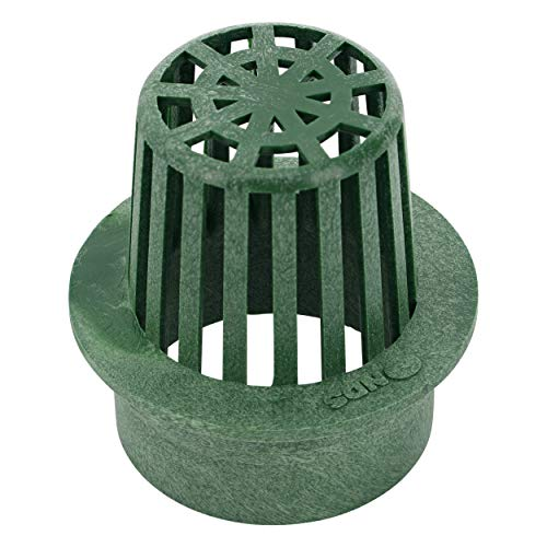 NDS 70 3' Atrium Grate, Green Fits 3 in. Drain Pipes & Fittings, 3'