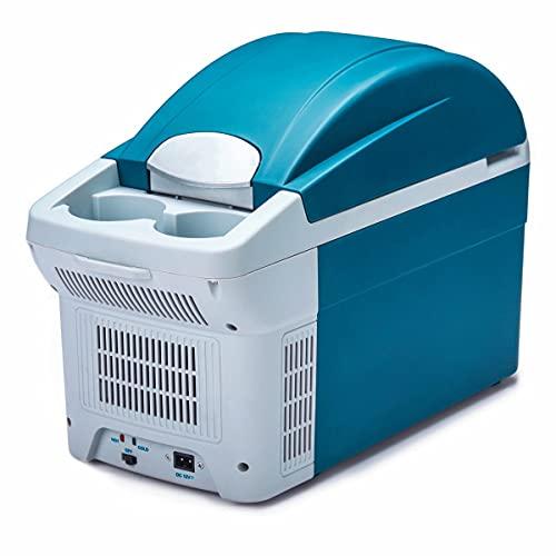 Calentador De Refrigerador De Automóviles Portátil - 12V Pequeño Enfriador Camión Camping Refrigerador Congelador Eléctrico Pequeño Nevera Al Aire Libre Para Viajar ( Color : Blue , Size : 12v220v )