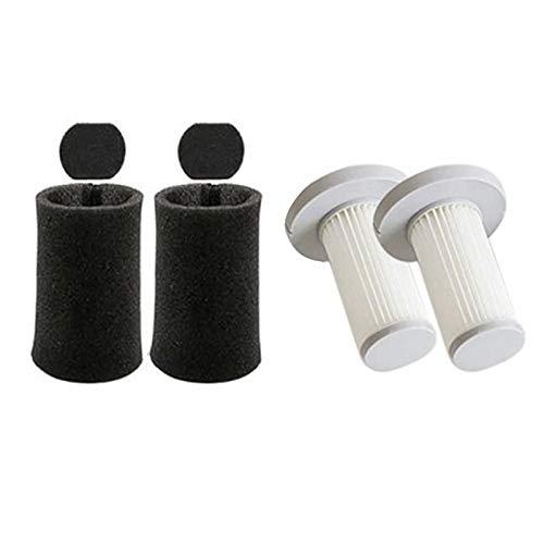 Fauge Aspirador de Mano Kit de Filtro de Esponja Hepa Filter para Deerma DX700 Accesorios de Piezas de Repuesto de VacíO-2 Set