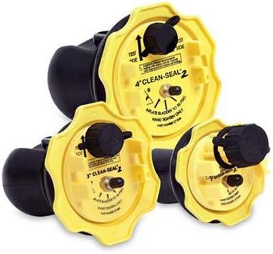 "wholesale Oatey online sale 271838 Clean-Seal 2 Plug, 3"", sale 3"", Yellow outlet online sale"