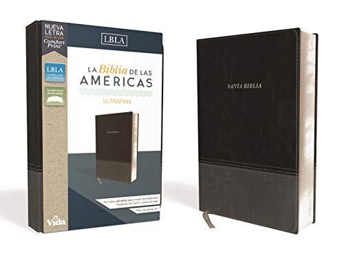 Compare Textbook Prices for LBLA Santa Biblia Ultrafina, Leathersoft, Negro Spanish Edition  ISBN 9780829769593 by La Biblia de las Américas  LBLA