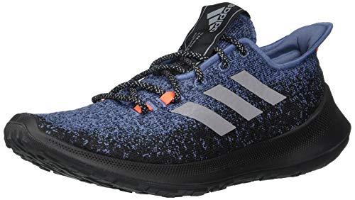 adidas Men's SenseBOUNCE + Running Shoe, tech Ink/White/Solar Red, 7 M US