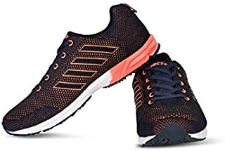 Vector X RS-5100 Jogging Shoes (Navy-Orange)