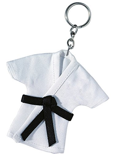 BAY® Mini Karate Anzug 12 cm Jacke Deko (weiß)