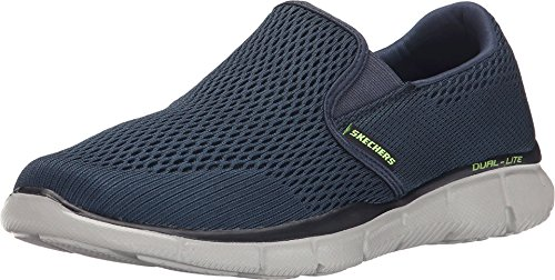 Skechers Herren Equalizer- Double PLAY-51509 Mokassin, Blau (Navy), 44 EU