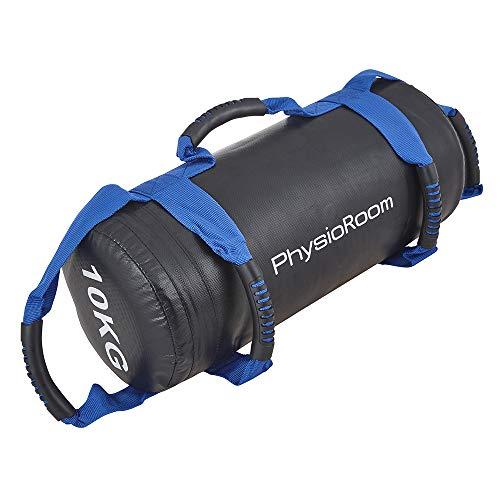 Fitness Tasche & Box Tasche 10kg Sand gefüllt, ideal für Zirkeltraining Robuste Sporttasche mit Griffen ideal zum Kalorienverbrennen, Muskelaufbau & Beweglichkeit - Perfekt auch für Boxing & MMA