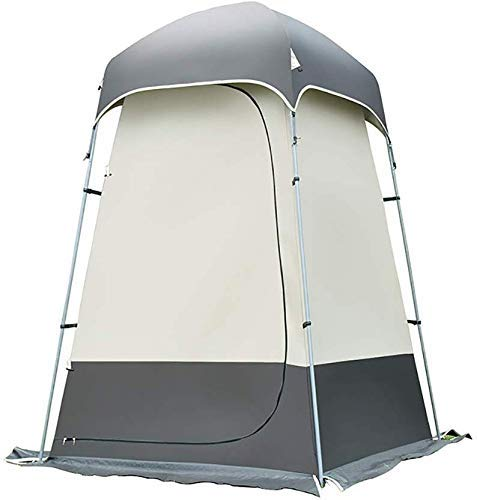 WY-YAN Outdoor Shower Canopies Shade Canopy Instant Tent Sun Shelter Waterproof Tents Supplies for Bathing and changing clothes (Color : Coffee)