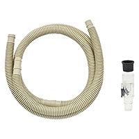 ガオナ これカモ ドレンホースと消音バルブのセット エアコン用 2.0m (長さ調節可能 ポコポコ音解消 防臭・防虫効果 取付簡単) GA-KW003