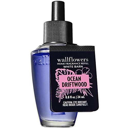 Bath and Body Works OCEAN DRIFTWOOD Wallflowers Fragrance Refill 0.8 Fluid Ounce (2020 Edition)