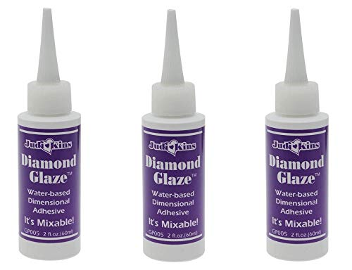 Judikins GP005 Diamond Glaze, 2-Ounce (3 Pack)