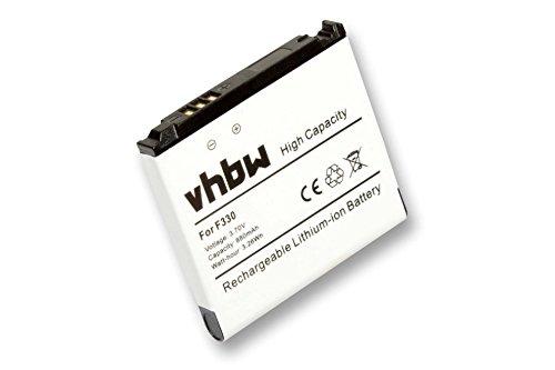 vhbw Akku passend für Samsung SGH-F330, SGH-G600 Handy, Smartphone, Handy ersetzt Samsung AB533640AU, AB533640AE (700mAh, 3.7V, Li-Ion)