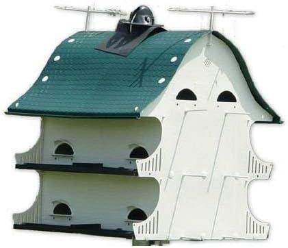 S k The American Barn 12 Room Purple Martin Bird House product image