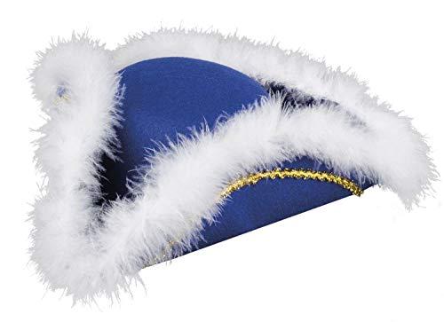 Boland 02011 Hut Tanzmariechen blau/weiß