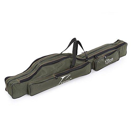 ロッドケース 釣りロッド 釣竿ケース フィッシングバッグ 肩掛け 大容量 釣り竿入れ 折畳?釣り竿入れ (120CM)