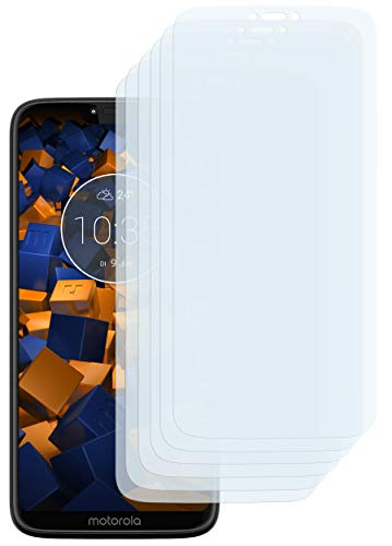 mumbi Schutzfolie kompatibel mit Motorola Moto G7 Power Folie klar, Bildschirmschutzfolie (6X)