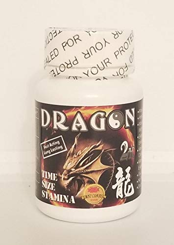 Dragon 2K Pill 7 Days Power Limited Edition for A Night You'll Never Forget and Will Leave Your Partner Begging for More Plus LOVE POTION Pen 24CT
