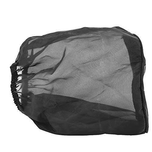 Luftfilter-Deckel - Staubschutz, Universal Staubdichtes High Flow Luftfilter Schutzhülle for das Ölstaubdicht Schwarz