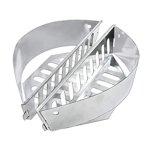 VICOOL Char-Basket Charcoal Briquet Holders for Kettle Grill, Weber's One Touch, Master Touch Charcoal Grills
