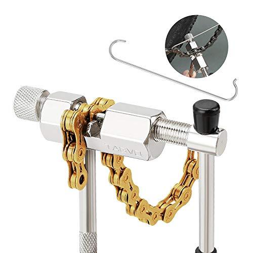 Tagvo Fahrrad-Ketten-Werkzeug, Fahrrad-Kettenunterbrecher-Spliter-Verbindungs-Remover-Ketten-Reparatur-Werkzeug-Fahrrad-Ketten-Niet-Werkzeug - kompakt und beweglich