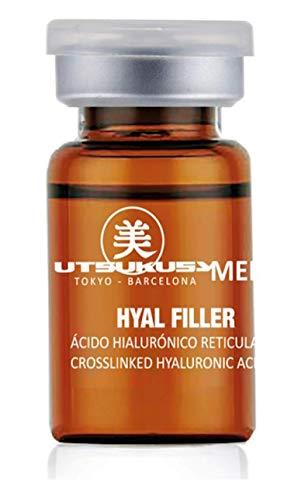 Hyal Filler – Hyaluron Filler mit vernetzter Hyaluronsäure - steriles Hyaluron-Serum für Microneedling (Derma Pen) u. Mesotherapie (Dermaroller)