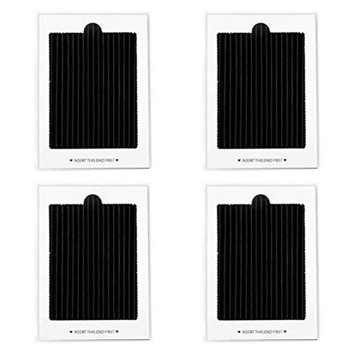 4 filtros de aire para refrigerador Electrolux Frigidaire Pure Air Ultra Refrigerator Filtro de aire de repuesto, sustituye a SCPUREAIR2PK,EAFCBF PAULTRA PureAir Ultra 242061001,2420478