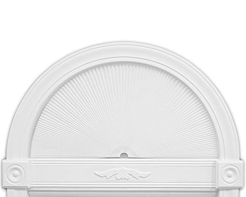 Redi Shade 3361804 Original Arch Cellular Light Filtering Shade, 72 in x 36 in, White