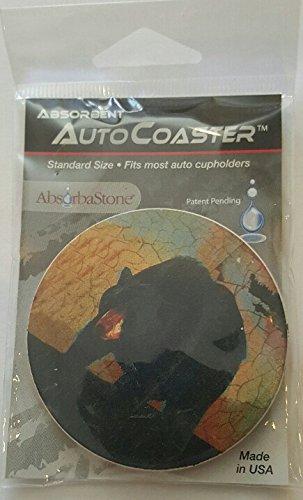 Absorbastone Auto Coaster Bear NIP