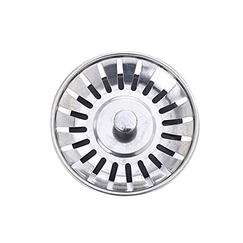 zhibeisai Sainless Steel Sink Strainer Waste Filter Collector Household Kitchen Bathroom Accessories